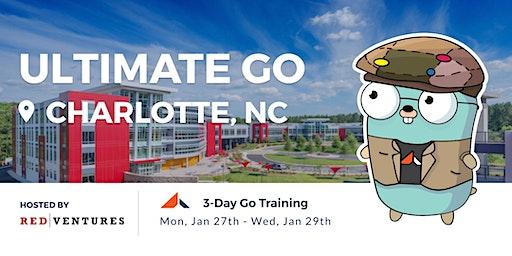 3-Day Ultimate Go Training: (Charlotte, NC, USA - January 2020)