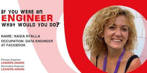 ONLINE MEET AN ENGINEER: Nasia Ntalla, Data Engineer at Facebook