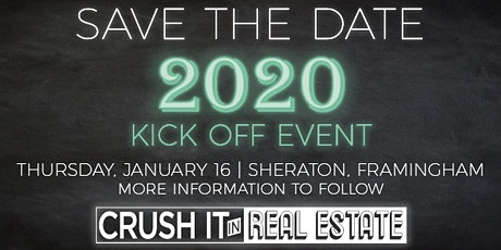 Crush It in Real Estate 2020 Kickoff Event tickets
