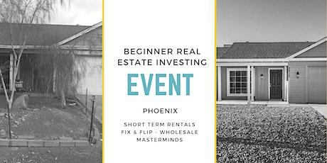 **Beginner & Advanced Real Estate Investor Briefing** tickets
