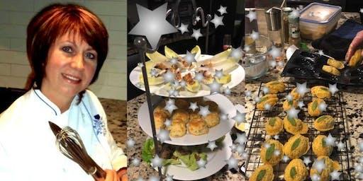 Cours de cuisine/Cooking Class: La Table des Fêtes/Festive Feast