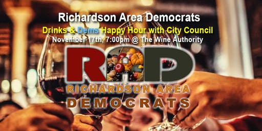 RAD Happy Hour: Meet your Richardson City Council