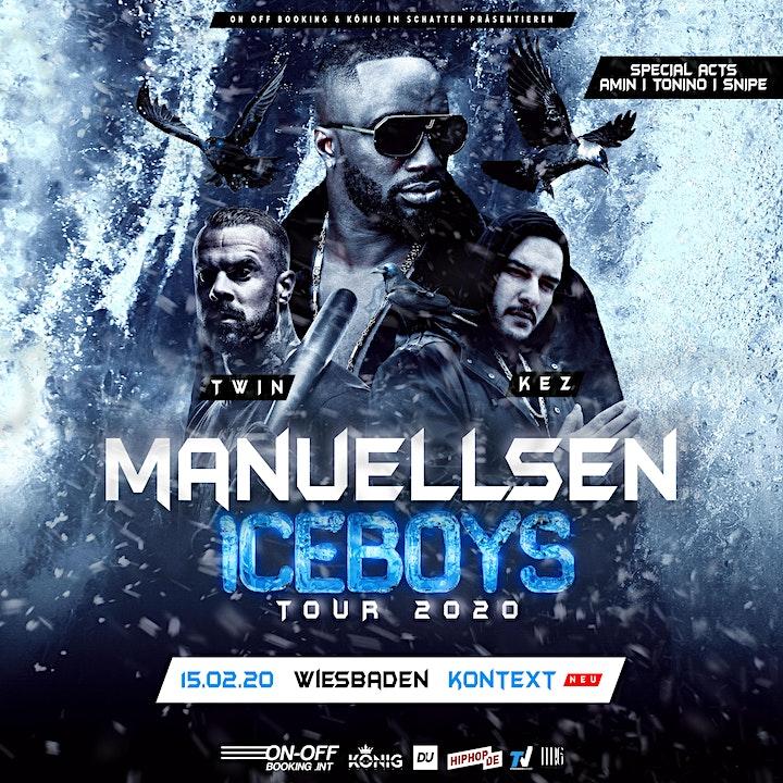 Manuellsen Ice Boys Tour 2020 - Wiesbaden: Bild