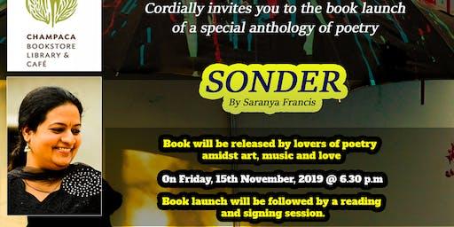 Book Launch: Sonder by Saranya Francis