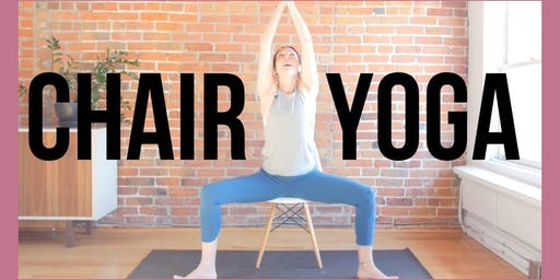 Live and Learn: Chair Yoga