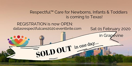 Respectful™ Care: Dallas SAT Feb 1st 2020
