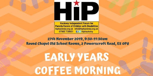 Early Years Coffee Morning
