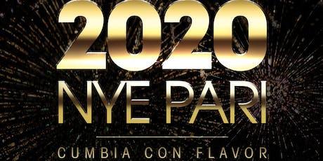 Cumbia Con Flavor - NYE Pari!! tickets