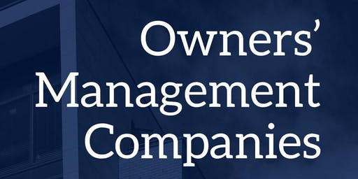 Outreach Event for Volunteer Directors of Owners' Management Companies