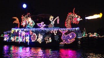 Holiday Lights Cruises: Newport Harbor