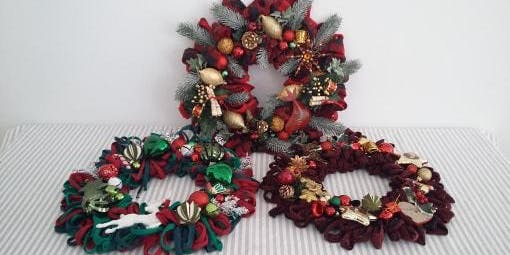 Christmas Wreaths Workshop with Penny from 'Penny Not Polly'