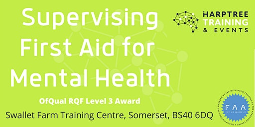 Level 3 Supervising First Aid for Mental Health Award