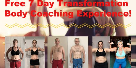 Free 7 Day Online Body Transformation Coaching Experience Valued at £40! tickets