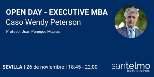 Open Day Executive MBA: Wendy Peterson