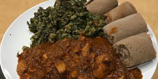 Niyat Catering: Ethiopian Dinner