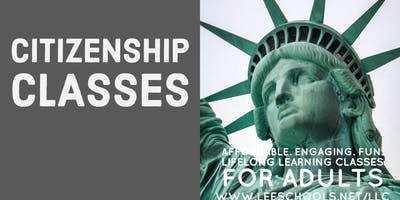 Citizenship Test Preparation @Lee County Public Education Center 2/24-3/9