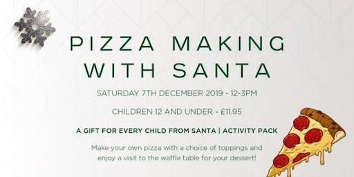 Pizza Making with Santa