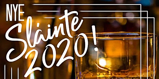 Slainte 2020! NYE Party w/ The Fighting Jamesons & Hey Hey