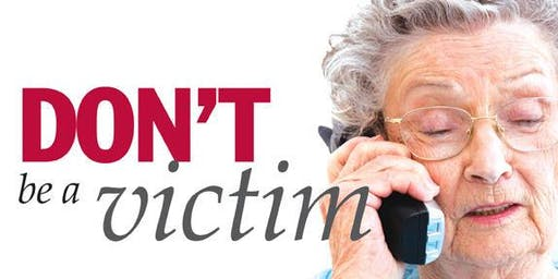 DON'T GET SCAMMED! Tips on fraud prevention for seniors