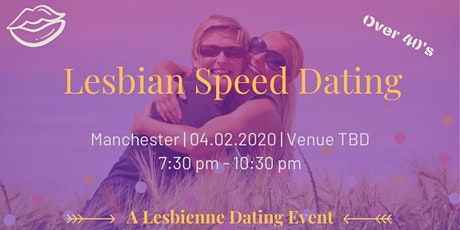 Lesbian Speed Dating - Manchester Over 40's tickets