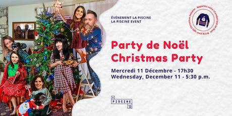 Party de Noël | La Piscine billets