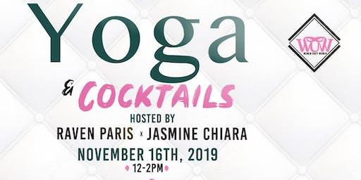 Yoga + Cocktails