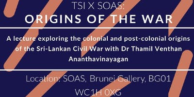 TSI X SOAS: Origins of the War