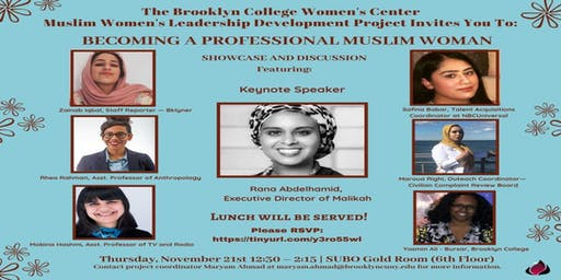 Muslim Women's Leadership Showcase Luncheon