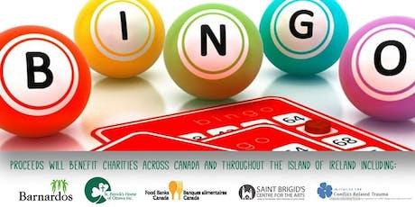 Bingo Fundraiser for Ireland Funds Of Canada tickets
