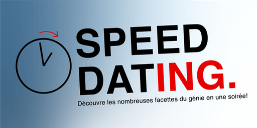 Speed Dat-ing. (30 places - garçon)