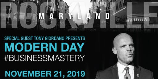 Tony Giordano: The Modern Day Business Mastery