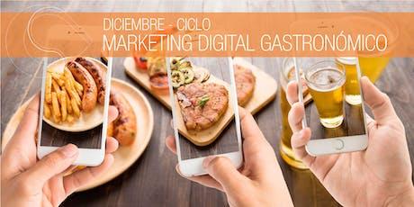 Ciclo de Marketing Digital Gastronómico - DIC, Sta Fe entradas
