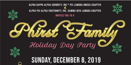 Phirst Family Holiday Party tickets
