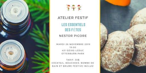 Atelier festif - Les Essentiels  des Fêtes !