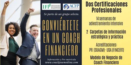 Reunion-Orientacion y PreMatricula - CERTIFICACION COACH FINANCIERO