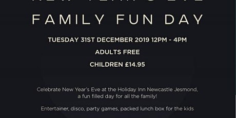 New Year's Eve Family Fun Day tickets