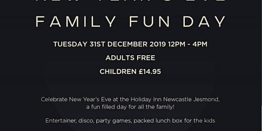 New Year's Eve Family Fun Day