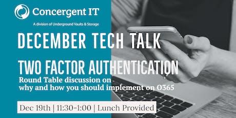 Concergent IT December Tech Talk tickets
