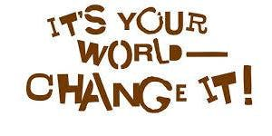 It's Your World - Change It Journey Workshop for Daisies, Brownies and Juniors!