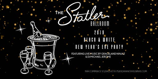 2019 Black & White New Years Eve Party