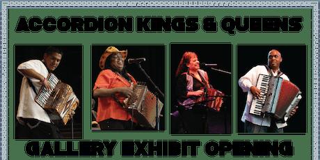 Gallery Exhibit Opening: Accordion Kings & Queens tickets