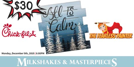 All Is Calm - Milkshakes & Masterpieces tickets
