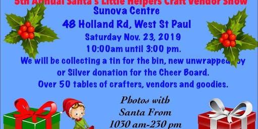 5th Annual Santa's Little Helpers Craft/Vendor Show
