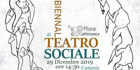 """""""LAVORO CORPOREO E MASCHERE SOCIALI"""" - Workshop di Teatro dell'Oppresso - II BIENNALE di TEATRO SOCIALE biglietti"""