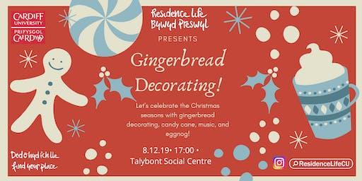Gingerbread Decorating / Addurno Bara Sinsir