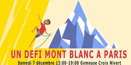 Escalathon 2019 : Un défi Mont Blanc à Paris!
