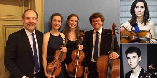 Meistersolisten im Isartal 6/2019: Amaryllis Quartett mit Partnern
