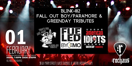 What's Our Age Again, Fueled By Emo, American Idiots tickets