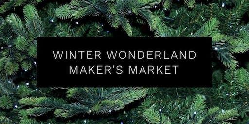 Winter Wonderland Maker's Market