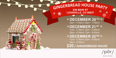 Gingerbread Decorating Party tickets